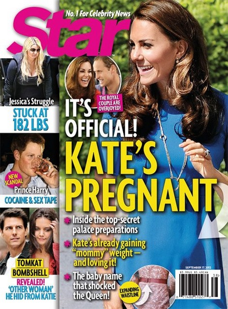 New Report: Kate Middleton Pregnant! Secretly Hoping For A Girl