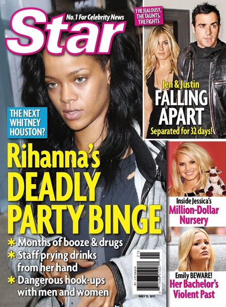 Heartbroken Rihanna's Deadly Party Binge (Photo)