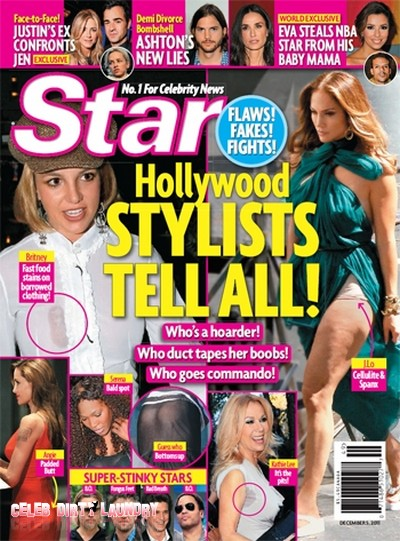Star Magazine: Hollywood Stylists Tell All!