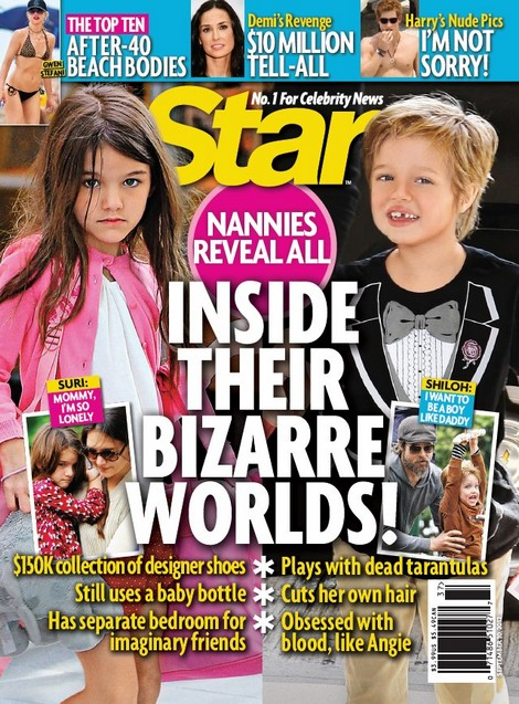 Inside The Bizarre World Of Suri Cruise and Shiloh Jolie-Pitt Revealed