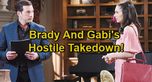 Days of Our Lives Spoilers: Gabi's Fury Erupts After Stefan Fires Her – Teams Up With Brady For Hostile Takedown