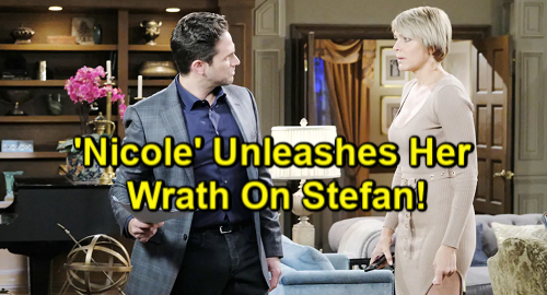 Days of Our Lives Spoilers: Furious 'Nicole' Gets Fired, Unleashes Wrath on Stefan – Gabi Caught in Fierce DiMera Battle