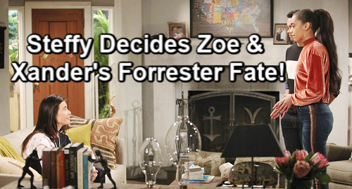 The Bold and the Beautiful Spoilers: Steffy's Power Play - Decides Zoe and Xander's Fate – Forrester Fashion Show Shocker