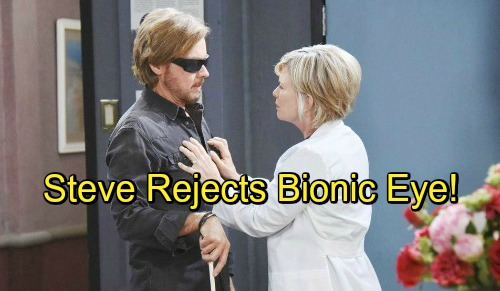 Days of Our Lives Spoilers: Steve Discovers Kayla's Deception, Angrily Refuses Bionic Eye