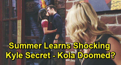 Young And The Restless Spoilers: Summer Newman (Hunter King) - Lola Rosales (Sasha Calle) - Kyle Abbott (Michael Mealor)