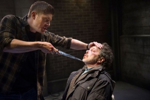 """Supernatural Recap - Crowley's Got One Hell of a Mom: Season 10 Episode 10 Winter Premiere """"The Hunter Games"""""""
