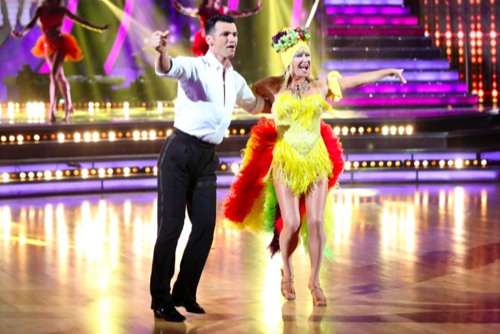 Suzanne Somers Dancing With The Stars Foxtrot Video Season 20 Week 4 – 4/6/15 #DWTS