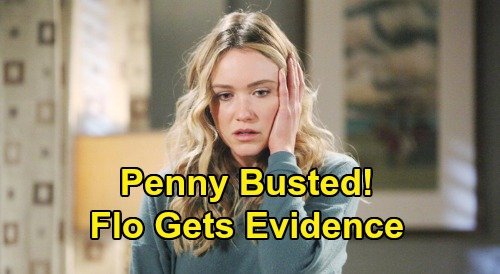 The Bold and the Beautiful Spoilers: Flo Discovers Fashion Designs in Dr. Escobar's Office – Penny Busted with Suspicious Sketches