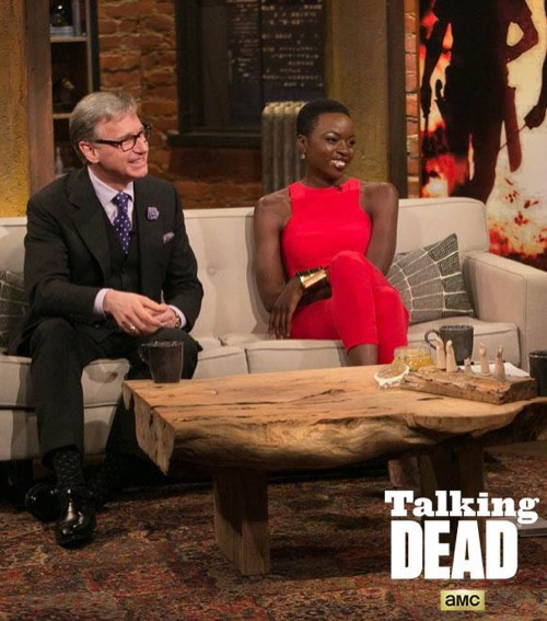 "Talking Dead Recap ""Melissa McBride, Paul Feig and Alicia Witt"" - Season 6 Episode 13"