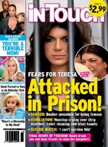 Teresa Giudice's Prison Sentence Of 15 Months Has Her Terrified: Scared Of Being Attacked In Prison - Emotional Wreck!