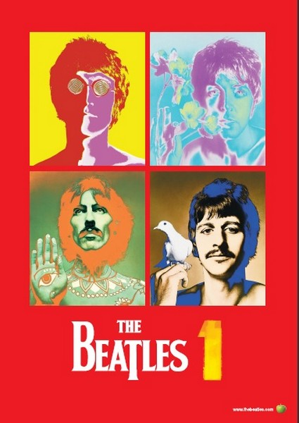 Giveaway Alert! Win A Beatles Poster & Remastered CD of '1'