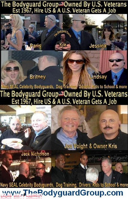 The Bodyguard Movie remake with The Navy SEAL Bodyguard Group (Video)