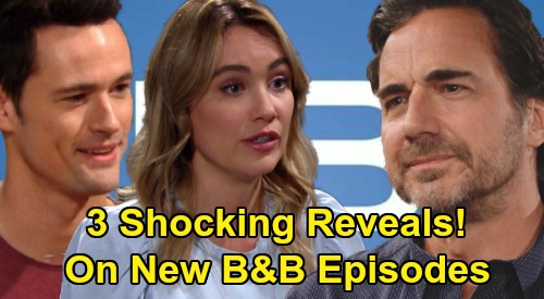 The Bold and the Beautiful Spoilers: 3 Shocking Reveals Air On New B&B Episodes Before August?