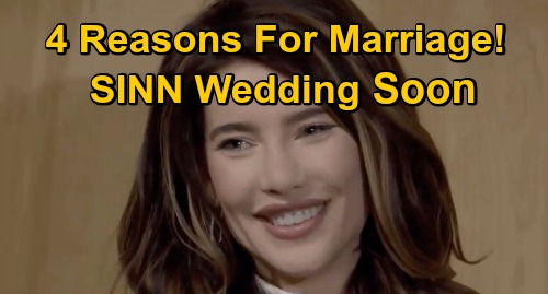 The Bold and the Beautiful Spoilers: 4 Reasons for a Fast Steffy & Finn Wedding – Why 'SINN' Marry Before JMW Maternity Leave