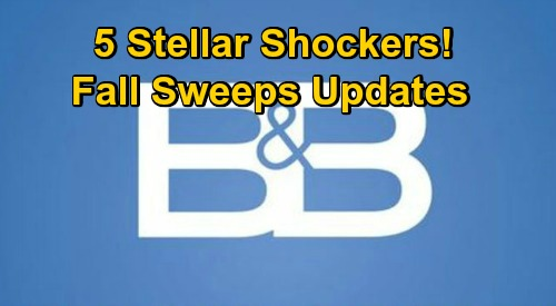 The Bold and the Beautiful Spoilers: 5 Huge Fall Sweeps Updates – Blooming Love, Bitter Battles and Messy Family Drama