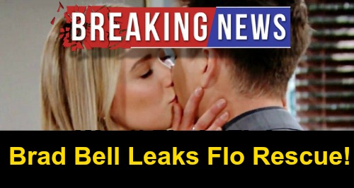 The Bold and the Beautiful Spoilers: Wyatt Rescues Kidnapped Flo, Unchains Love from Radiator – Flo Embraces and Kisses Hero