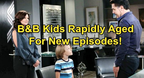 The Bold and the Beautiful Spoilers: B&B Kids Rapidly Aged For New Episodes - Will Spencer a Rebellious Teen for Bill & Katie?