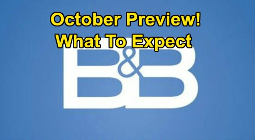 The Bold and the Beautiful Spoilers: B&B October Preview – What Fans Can Expect in the Month Ahead