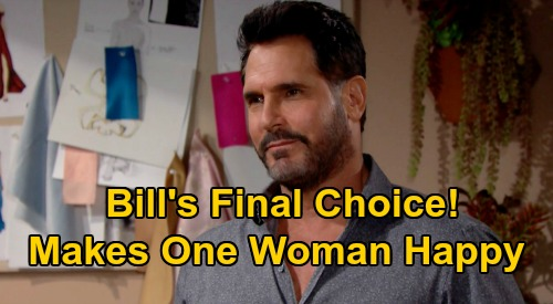 The Bold and the Beautiful Spoilers: Bill's Tricky Love Triangle – Makes Final Choice Between Brooke and Katie