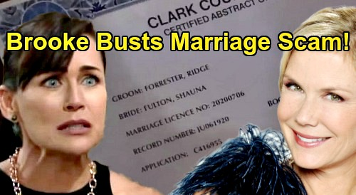 The Bold and the Beautiful Spoilers: Brooke Digs for Shauna & Ridge Marriage Truth – Exposes Quinn's Twisted Scheme?