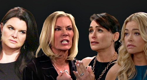 The Bold and the Beautiful Spoilers: Brooke & Katie Team Up – Sisters Scheme to Destroy Quinn & Shauna?