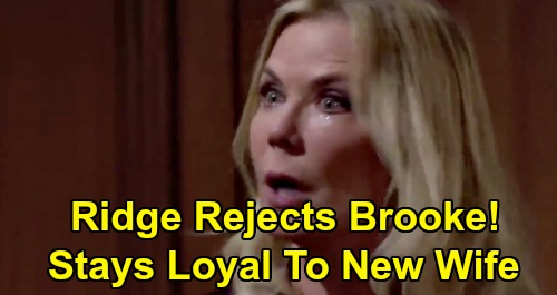 The Bold and the Beautiful Spoilers: Brooke's Seduction Fails, Ridge Rejects Ex's Bed – Shauna's New Husband Stays Loyal?