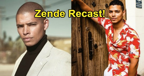 The Bold and the Beautiful Spoilers: Delon de Metz Joins B&B – Zende Forrester Dominguez Recast Coming in New Episodes