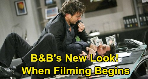 The Bold and the Beautiful Spoilers: Distancing Rules Change B&B's New Episode Look - No Kissing, Big Weddings, or Physical Conflict?