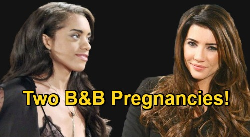 The Bold and the Beautiful Spoilers: Double Baby Bombshell – Steffy AND Zoe Pregnancy Stories Brewing, Two Buns in the Oven?