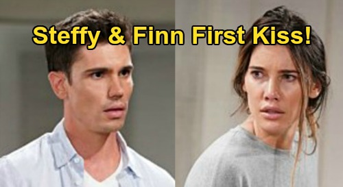 The Bold and the Beautiful Spoilers: Finn Confesses True Feelings to Steffy, First Kiss Follows – See When #SINN Catches Fire