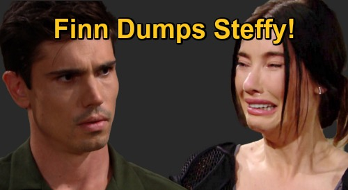 The Bold and the Beautiful Spoilers: Finn Dumps Steffy After Liam Cheating Revealed – Devastating Shocker Blows Up 'SINN'