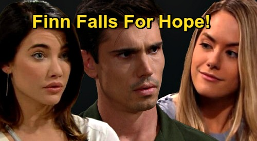 The Bold and the Beautiful Spoilers: Finn Falls for Hope After Steffy & Liam Reunite – Partner Swap Follows Addiction Recovery?