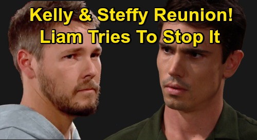 The Bold and the Beautiful Spoilers: Finn Surprises Steffy with Kelly Reunion – Liam Has a Meltdown, Objects to Doc's Meddling
