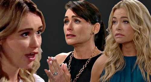The Bold and the Beautiful Spoilers: Flo Lies to Wyatt Again - Keeps Shauna and Quinn's Marriage Scam Secret?