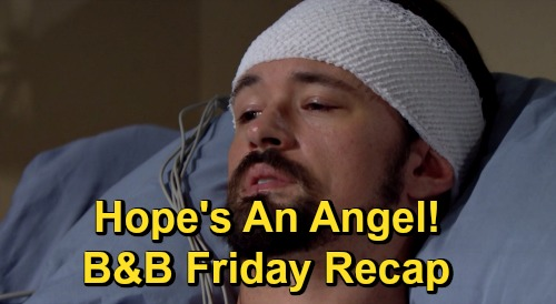 The Bold and the Beautiful Spoilers: Friday, December 11 Recap - Thomas Says Hope's an Angel - Liam & Steffy's Sordid Spat