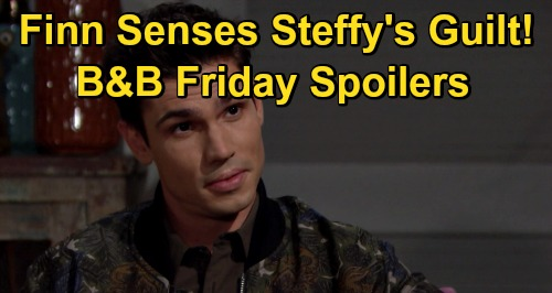 The Bold and the Beautiful Spoilers: Friday, December 18 - Finn Senses Something's Off With Steffy - Ridge Worries About Kids