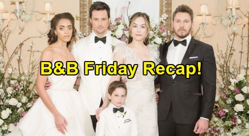 The Bold and the Beautiful Spoilers: Friday, July 10 - Thomas Falls For Hope's Plot - Ridge Apologizes To Brooke