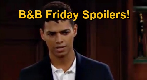 The Bold and the Beautiful Spoilers: Friday, November 20 - Liam & Steffy Bond Over Kelly - Zende Hides Feelings For Zoe