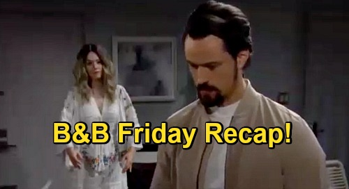 The Bold and the Beautiful Spoilers: Friday, November 20 Recap - Rude Mannequin Interrupts Thomas' Time With Hope & Douglas