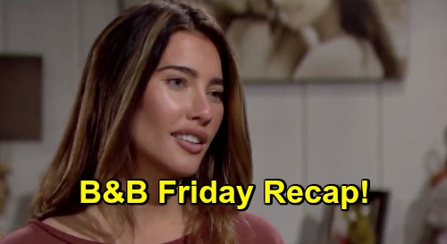 The Bold and the Beautiful Spoilers: Friday, October 16 Recap - Steffy & Finn Classic Kiss - Zoe Makes Carter Wait For An Answer