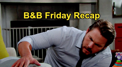 The Bold and the Beautiful Spoilers: Friday, September 18 Recap - Liam Finds Steffy Passed Out - Finn's The New Man