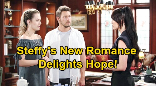 The Bold and the Beautiful Spoilers: Hope Delighted By Steffy's New Romance – 'Steam' Ends for Good, Gets Liam All To Herself