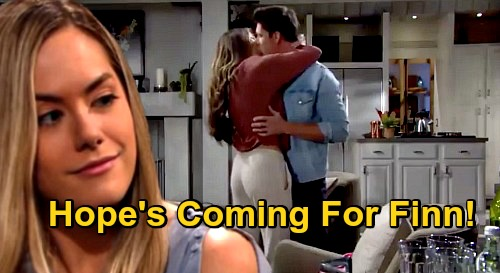 The Bold and the Beautiful Spoilers: Hope Is Coming for Finn, Steffy's New Man at Risk – New B&B Love Triangle?
