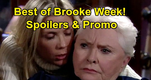 The Bold and the Beautiful Spoilers: Katherine Kelly Lang Can't Wait For 'Best of Brooke' Throwback Week - Loves & Foes Featured