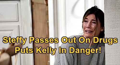 The Bold and the Beautiful Spoilers: Kelly Danger Hits as Steffy Passes Out on Pain Pills – Liam's Discovery Causes Major Blowup