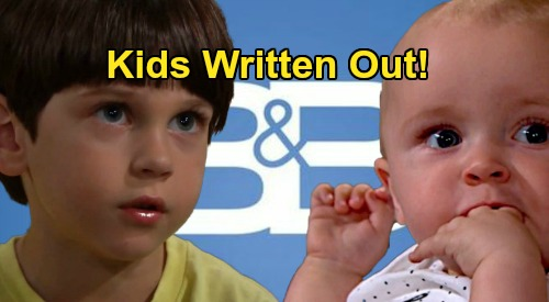 The Bold and the Beautiful Spoilers: Kids Written Out for Now – B&B's New Episodes Won't Include Douglas, Beth, Kelly or Will