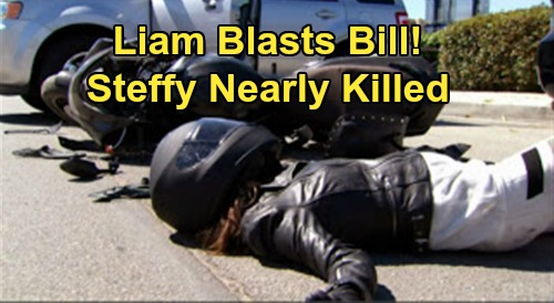 The Bold and the Beautiful Spoilers: Liam Blasts Distracted Driver Bill – Blames Father for Nearly Killing Steffy on the Road?