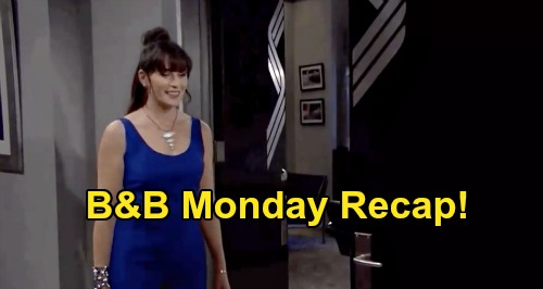The Bold and the Beautiful Spoilers: Monday, August 24 Recap - Ridge Hears Brooke Declare Love For Bill - Carter Asks Zoe Out