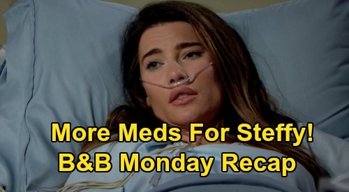 The Bold and the Beautiful Spoilers: Monday, August 3 Recap - Wyatt Tells Sally Goodbye - Steffy Takes More More Pain Meds