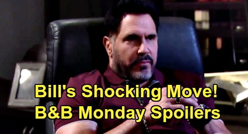 The Bold and the Beautiful Spoilers: Monday, August 31 - Bill's Shocking Brooke Move - Ridge & Shauna Full Speed Ahead